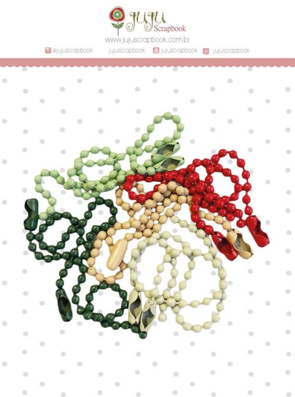 Kit de Correntinhas  Tempo de Celebrar Colorido - Juju Scrapbook