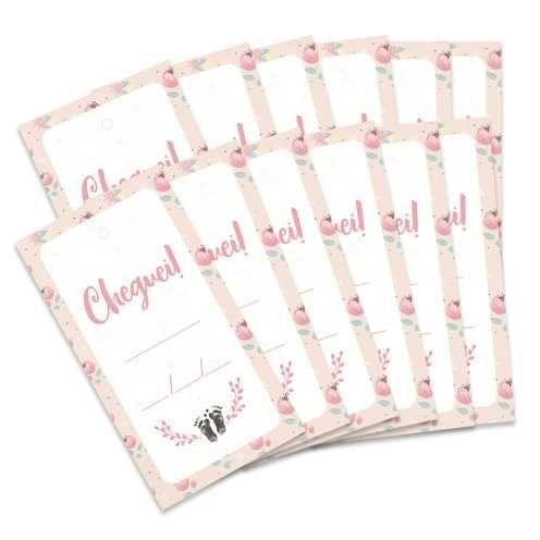 Kit de Tags Meu Coração é Seu Cheguei! Flor - JuJu Scrapbook