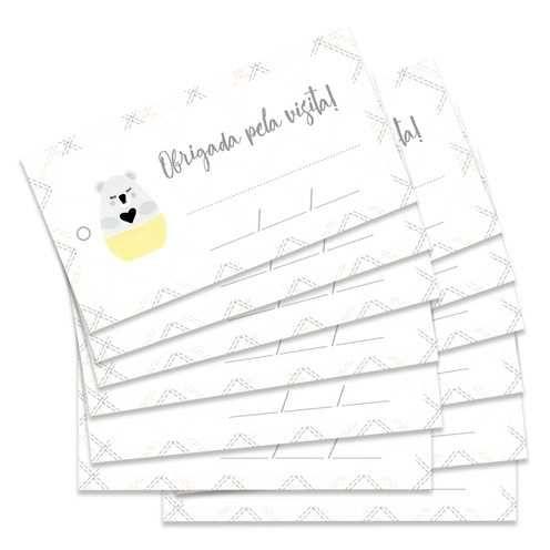 Kit de Tags Meu Coração é Seu Obrigada Pela Visita! Coala - JuJu Scrapbook