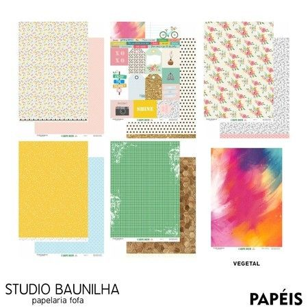 Kit Scrapbook Carpe Diem - Studio Baunilha