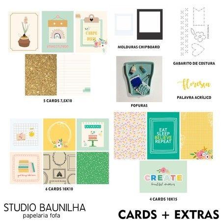 Kit Scrapbook Carpe Diem - Studio Baunilha