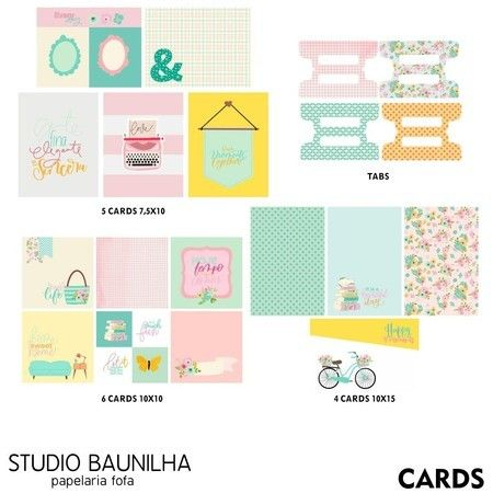 Kit Scrapbook Hello Everyday - Studio Baunilha