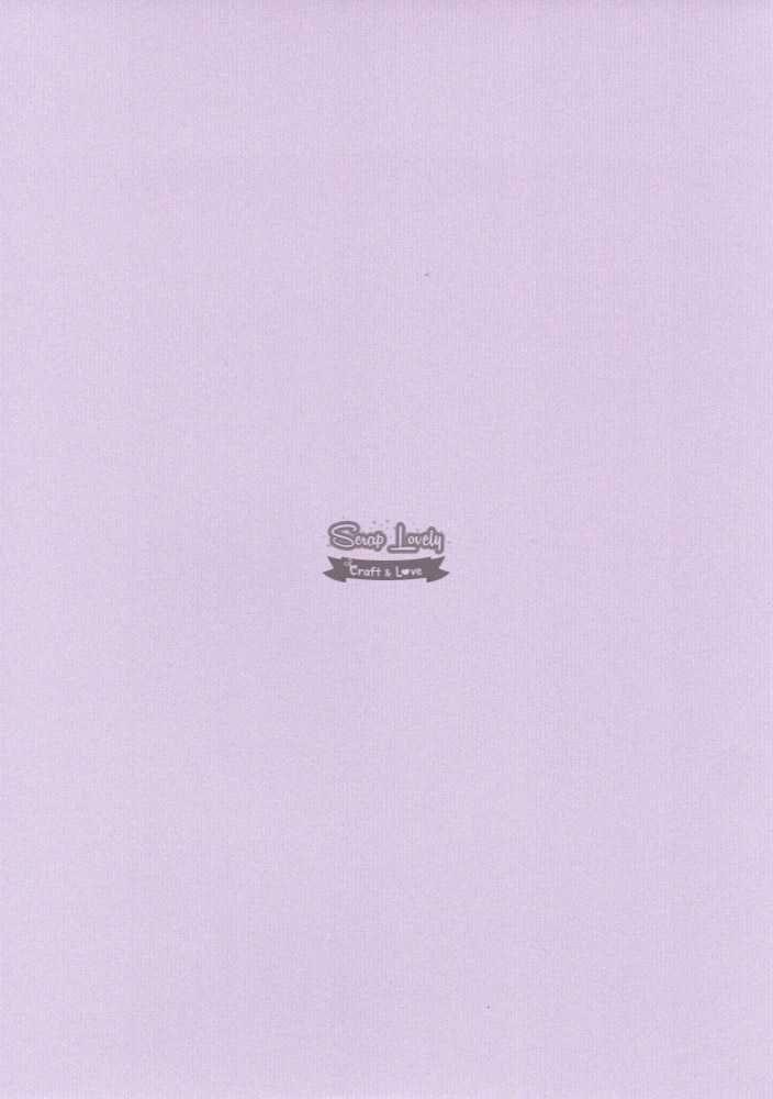 Papel Scrapbook A4 Textura Linear Lilás - Metallik