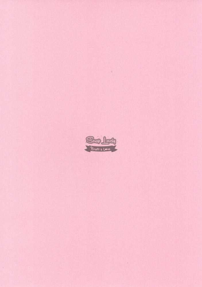Papel Scrapbook A4 Textura Linear Rosa - Metallik