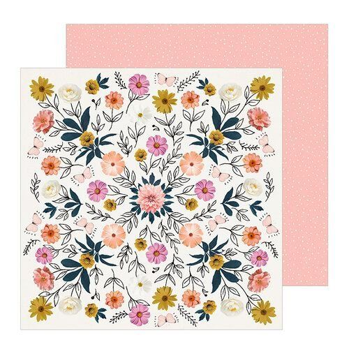 Papel Scrapbook All Heart Wild - Crate Paper