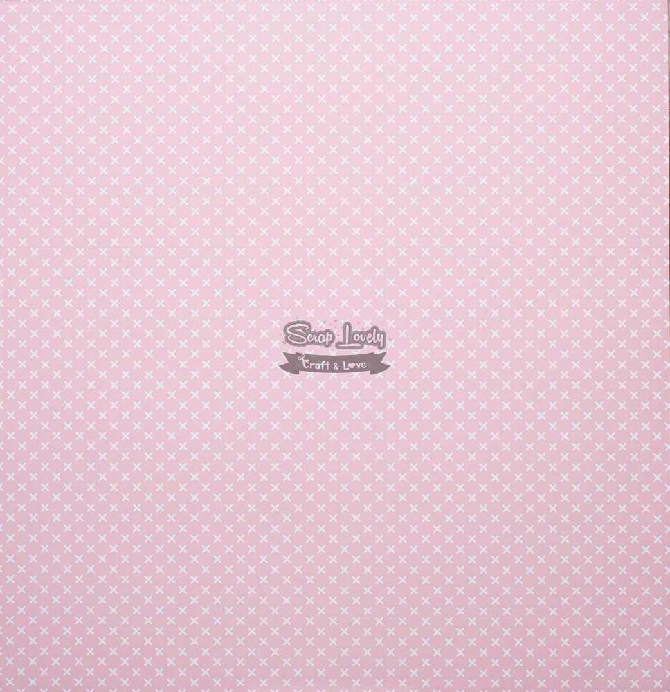 Papel Scrapbook Bebê a Caminho Floral - Oficina do Papel