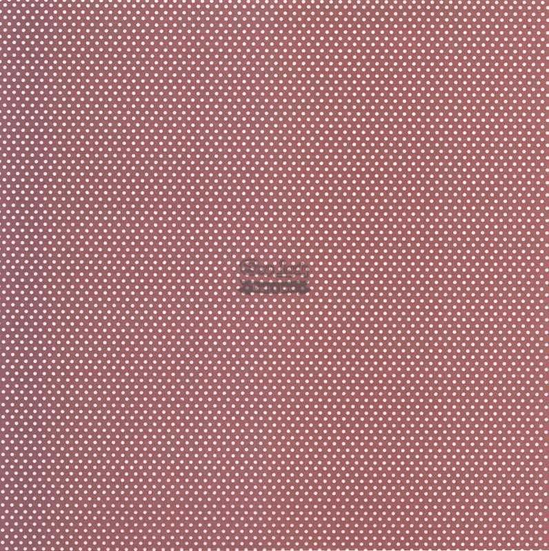 Papel Scrapbook Bolinha Básica Rosa Quartz - Metallik