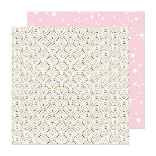 Papel Scrapbook Buenos Dias! Happy Mosaic - American Crafts