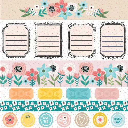 Papel Scrapbook Click and Love Cute - Scrap Goodies