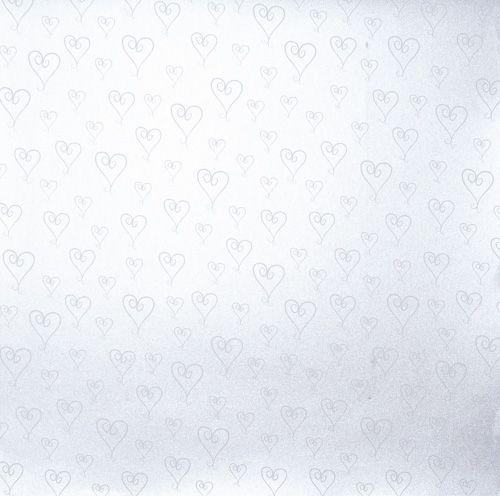Papel Scrapbook Coração Básico 2 Lilás - Metallik