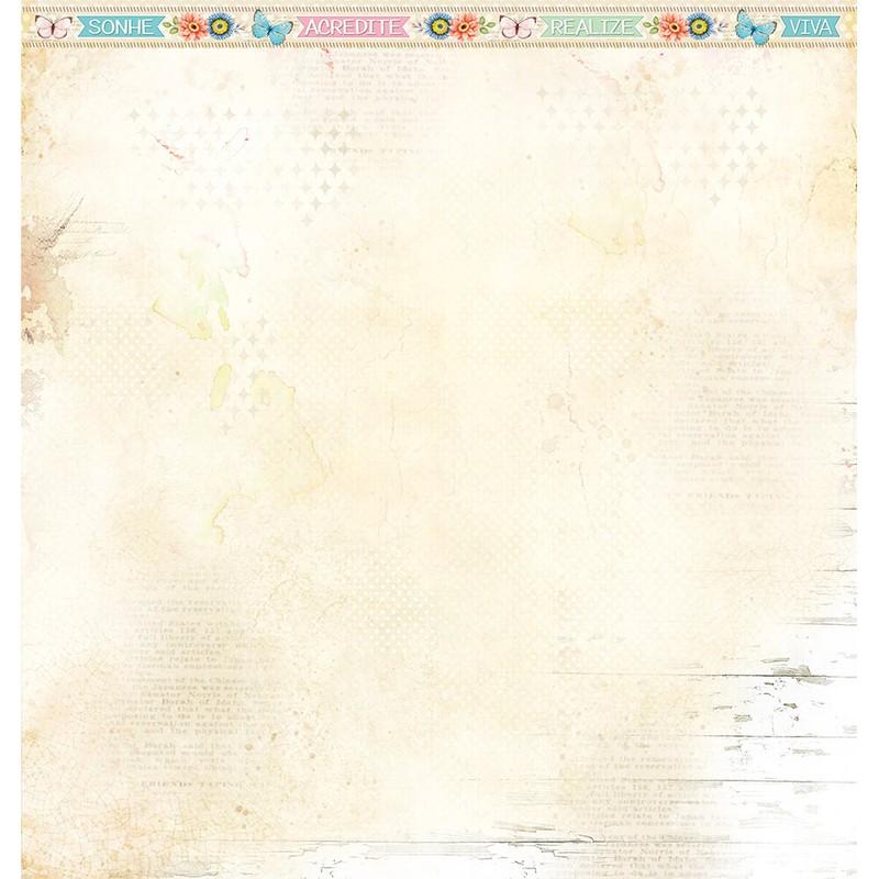 Papel Scrapbook Encanto de Primavera SD-1164 - Litoarte