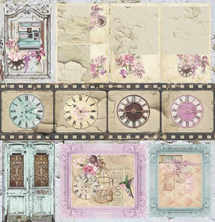 Papel Scrapbook Essence of Life EOL 05 - Carina Sartor