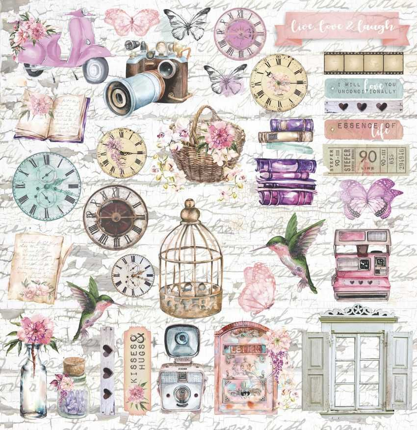 Papel Scrapbook Essence of Life EOL 08 - Carina Sartor