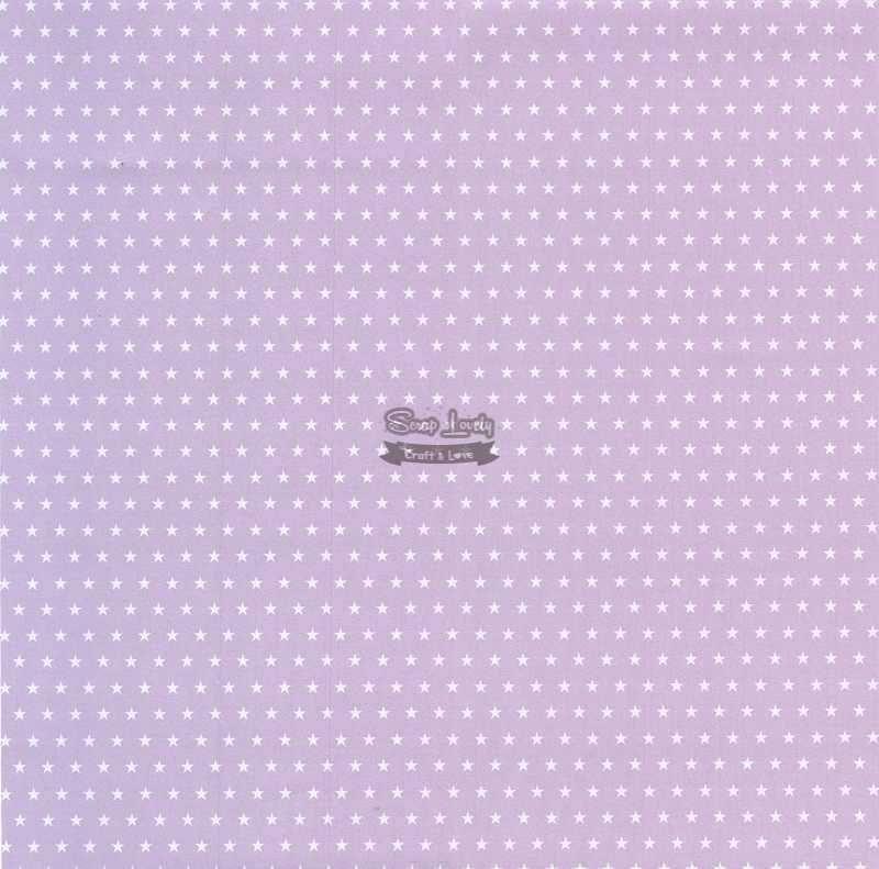Papel Scrapbook Estrela Básica Lilás - Metallik