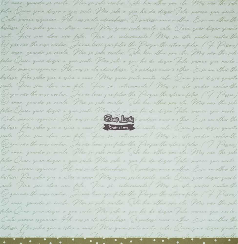 Papel Scrapbook Felizes Para Sempre Amor e mais Amor - JuJu Scrapbook