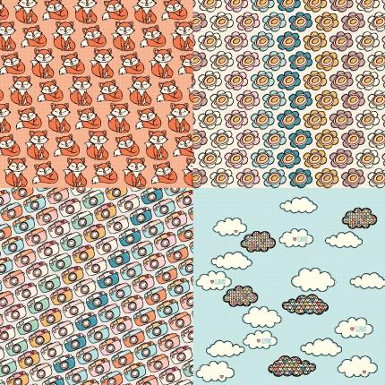 Papel Scrapbook Good Memories Cute Print PP221 - Scrap Goodies