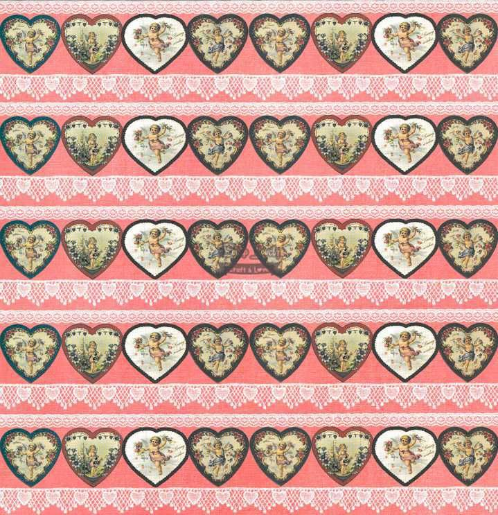 Papel Scrapbook Love is in The Air 3 - Arte Fácil