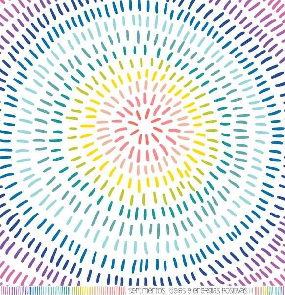 Papel Scrapbook Mais Boas Vibrações Pura Energia - It Lov