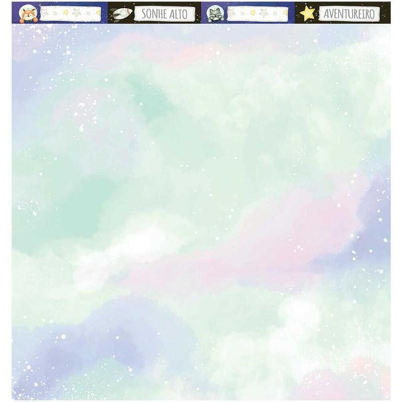 Papel Scrapbook Meu Universo SD-1194 - Litoarte