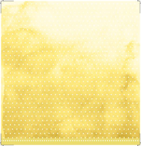 Papel Scrapbook My Basics Aquarela Amarelo MMCMB-02 - My Memories Crafts