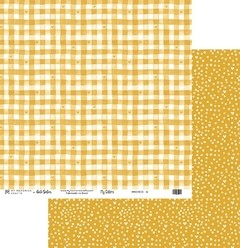 Papel Scrapbook My Colors Candy Color Amarelo MMCMCO-12 - My Memories Crafts
