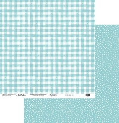 Papel Scrapbook My Colors Candy Color Azul Claro MMCMCO-10 - My Memories Crafts