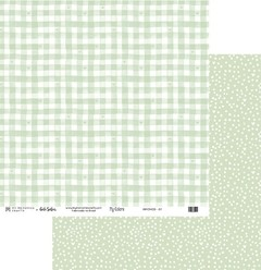 Papel Scrapbook My Colors Candy Color Verde MMCMCO-07 - My Memories Crafts