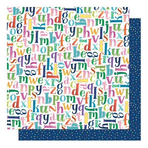 Papel Scrapbook Never Grow Up Pick a Letter - American Crafts