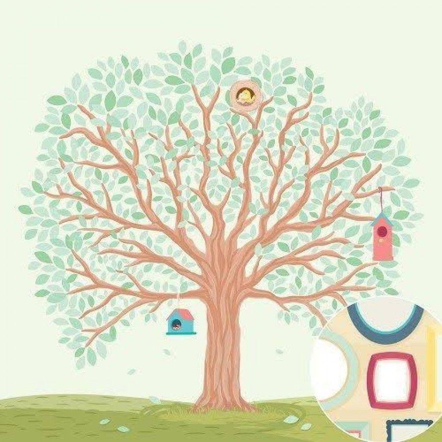 Papel Scrapbook Nosso Ninho Árvore Genealógica - Oficina do Papel