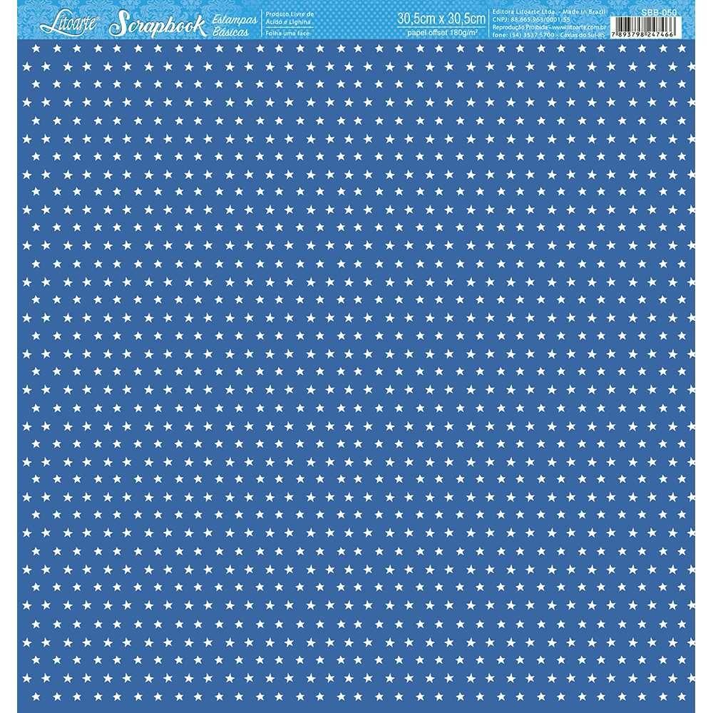 Papel Scrapbook SBB-050 - Litoarte