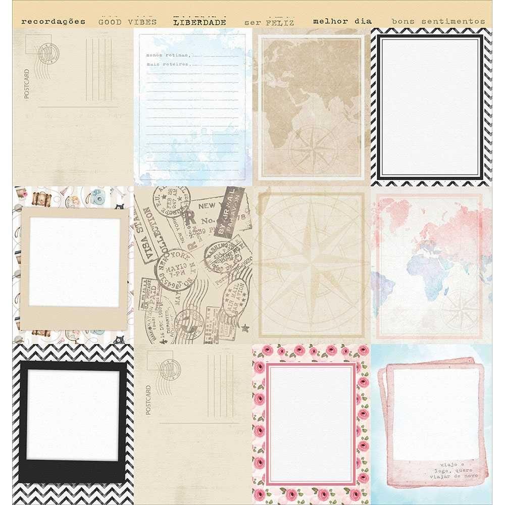 Papel Scrapbook SD-1137 - Litoarte