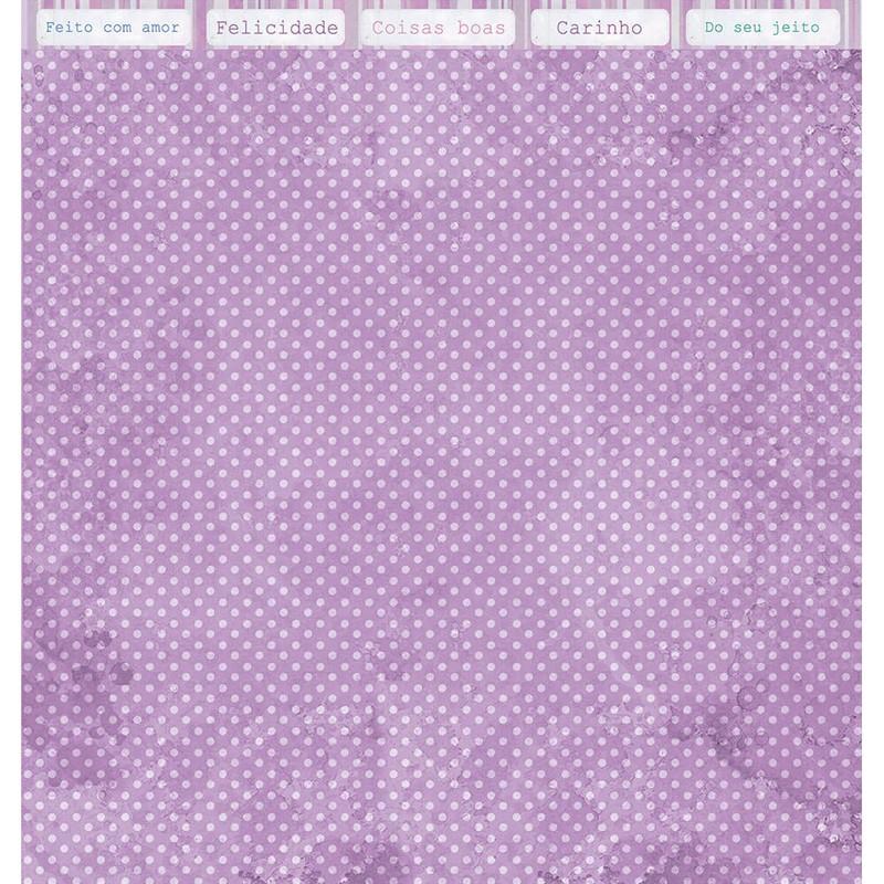 Papel Scrapbook  SD-1145 - Litoarte