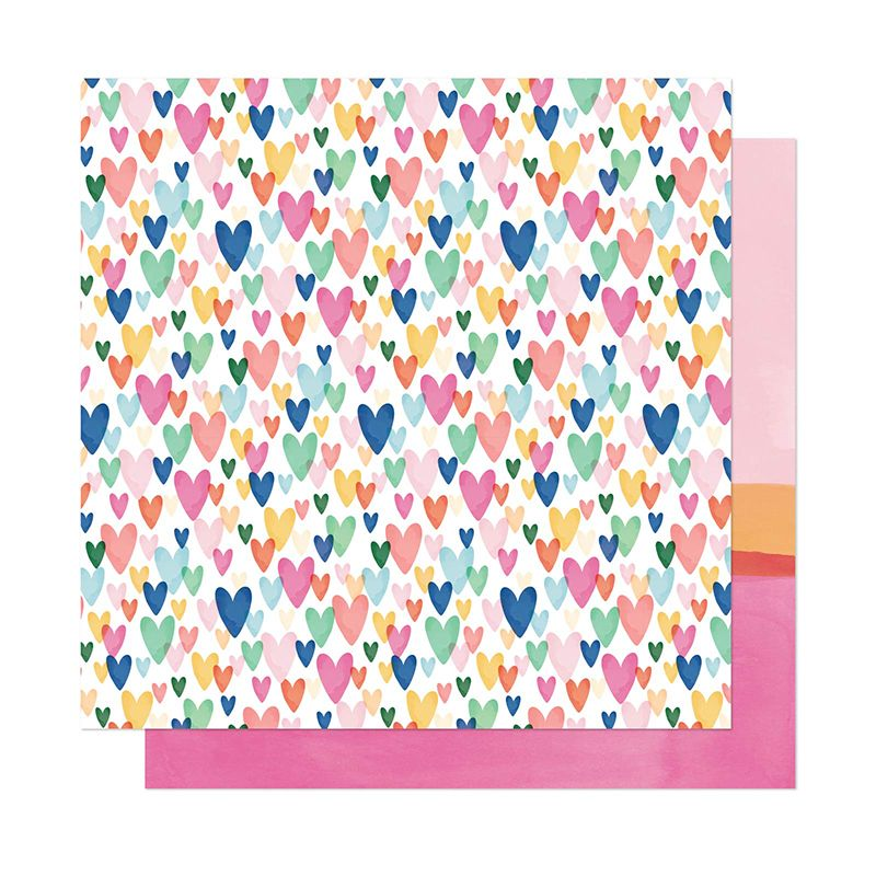 Papel Scrapbook She's Magic Kind Heart - American Crafts