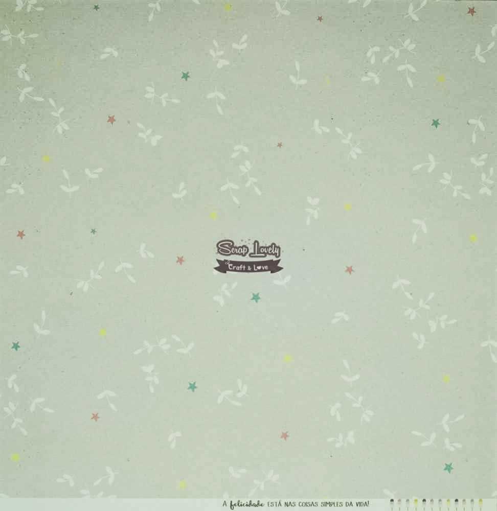 Papel Scrapbook Sonhos nos Alpes Sonho Colorido - JuJu Scrapbook