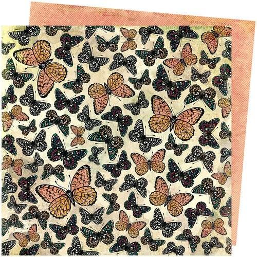 Papel Scrapbook Storyteller Mariposa - American Crafts