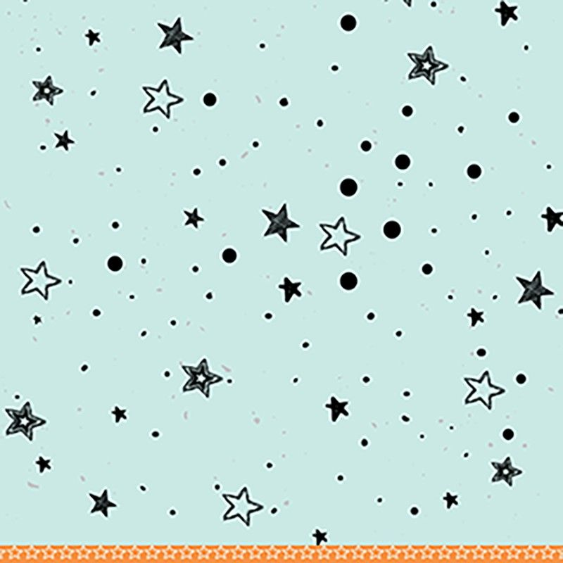Papel Scrapbook Vida de Garoto Astronauta PP185 - Scrap Goodies