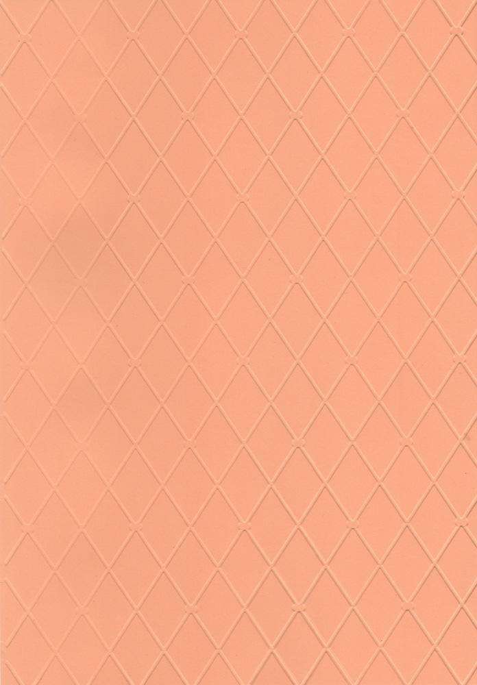 Placa de Emboss Losângo 21cm x 29,7 (A4) 21810 (PPR028) - Toke e Crie