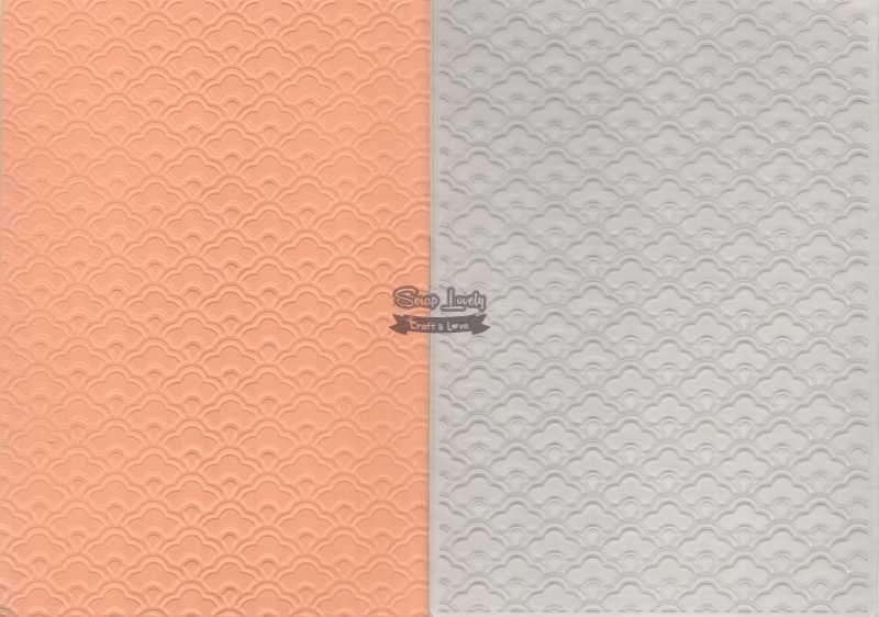 Placa de Emboss Textura 10,6cm x 15cm (A6) PE001-33 - Art e Montagem