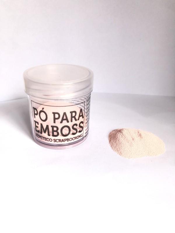 Pó de Emboss Opaco Rosa Bebê - Repeteco