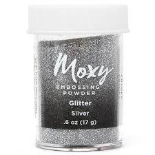 Pó de Emboss Prateado Glitter Silver - American Crafts