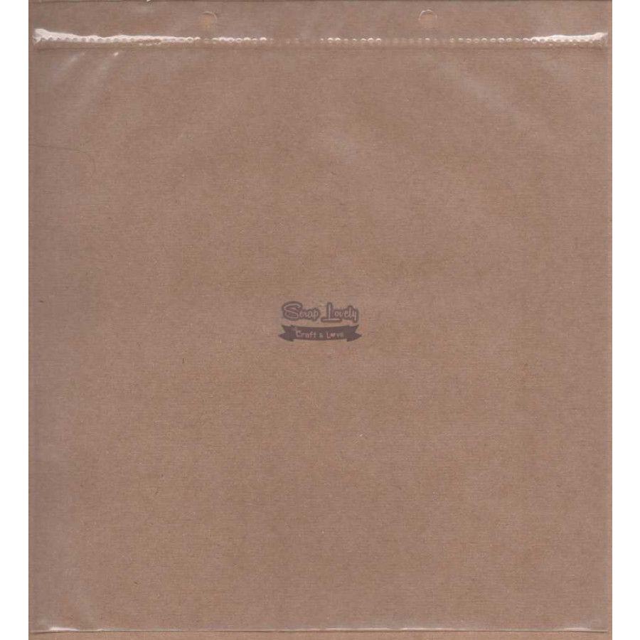 Refil para Álbum Scrapbook 23cm x 21cm - Oficina do Papel