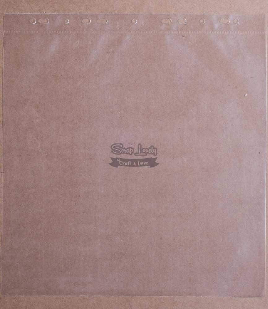 Refil para Álbum Scrapbook 33cm x 31,5cm - Repeteco