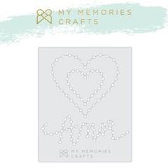 Régua de Costura My Love Amor - My Memories Crafts