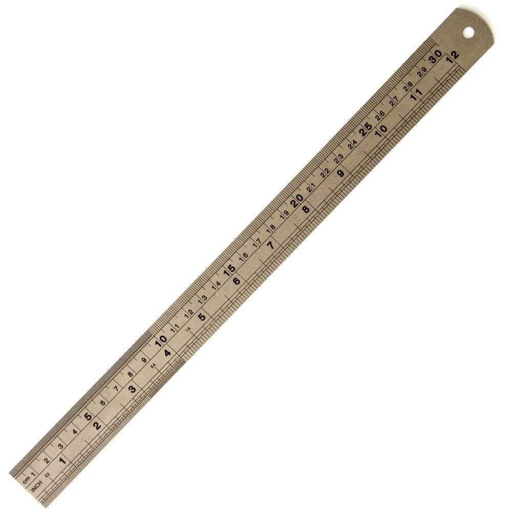 Régua de Metal 30cm 7458 (RM002) - Toke e Crie