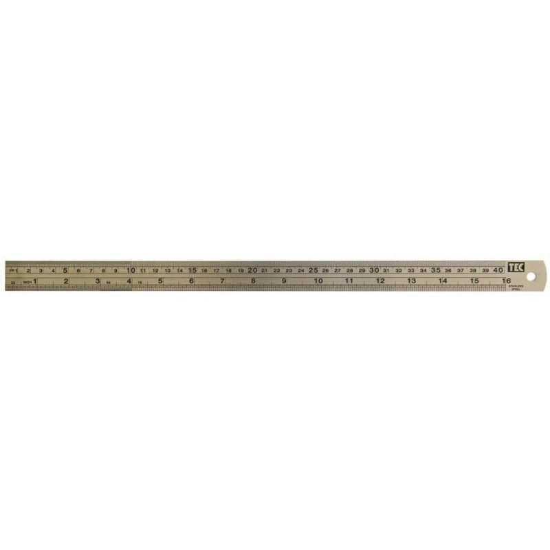 Régua de Metal 40cm 7459 (RM003) - Toke e Crie