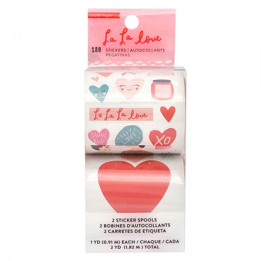 Rolo de Adesivos La La Love - Crate Paper