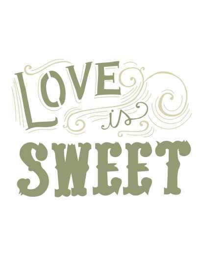 Stencil Love is Sweet ST-561 - Arte Fácil