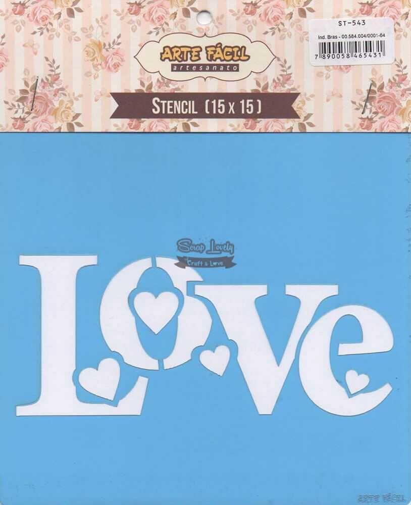 Stencil Love ST-543 - Arte Fácil