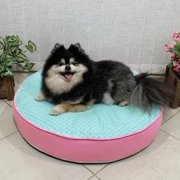 Almofada Futon Pet Redonda - Imperial Tifany - Tam M