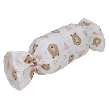Almofada Pet Bombom - Urso Rosa